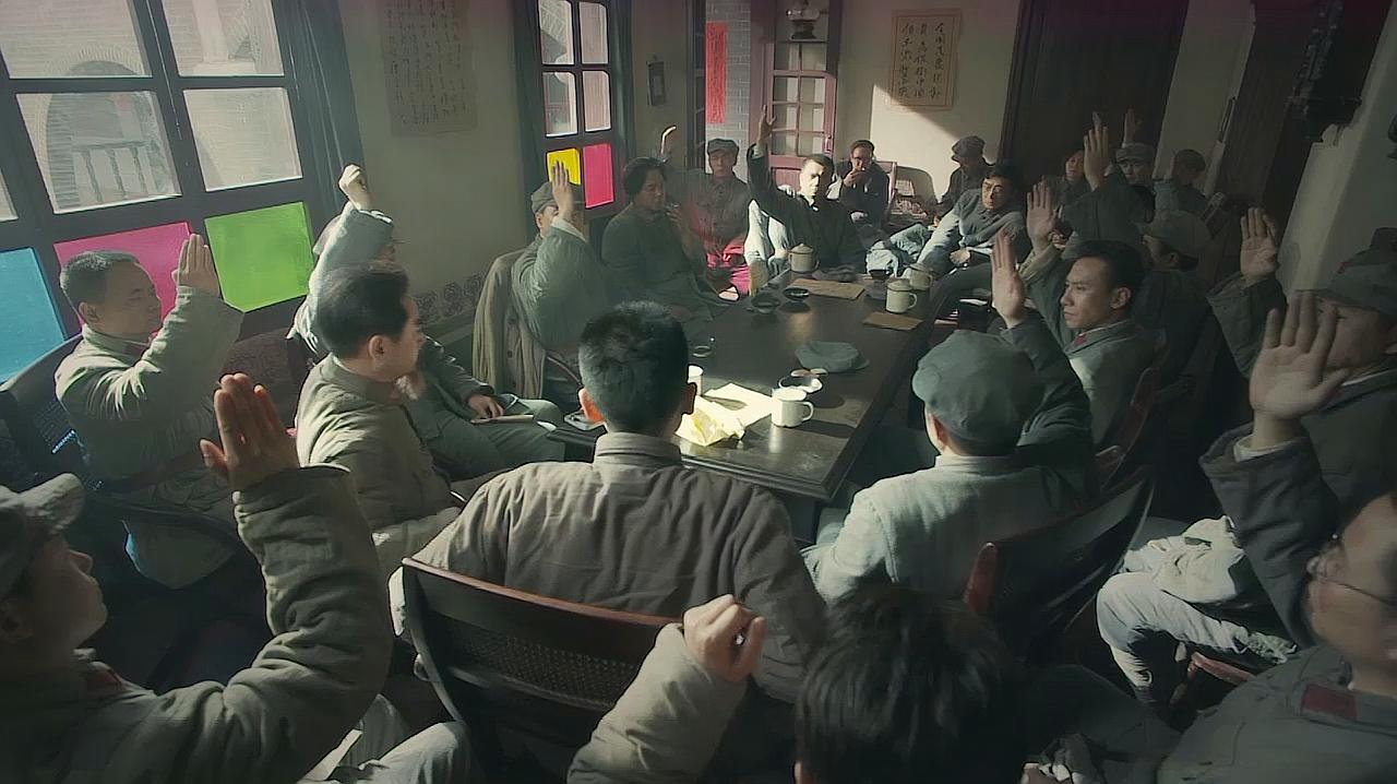 经典影视:遵义会议,确定毛主席为领导,这是一次伟大的转折