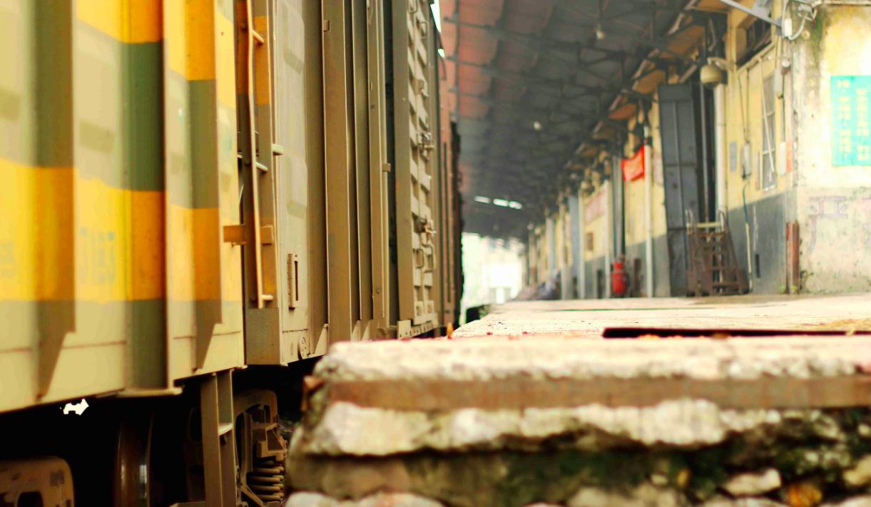 石围塘,广州最古老的火车站,曾经知名度极高,开出的火车趟趟满