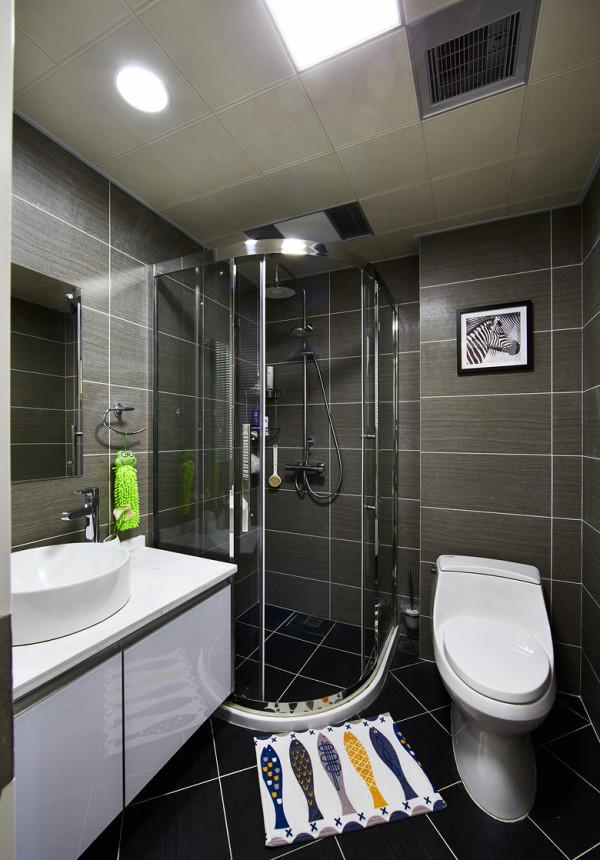 15款经典小卫生间装修,连设计师都点赞设计方案
