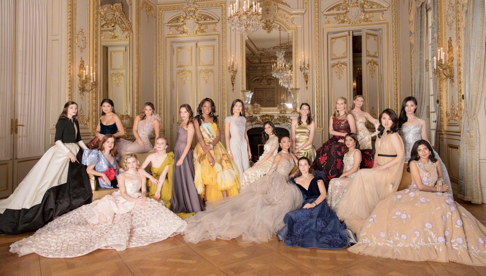 沒貴族稱號,首次亮相就出席巴黎名媛舞會,因父親是華為創始人?