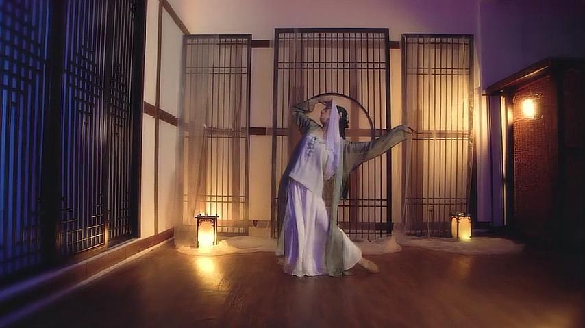 古典舞:电影《青蛇》音乐《思情》图片