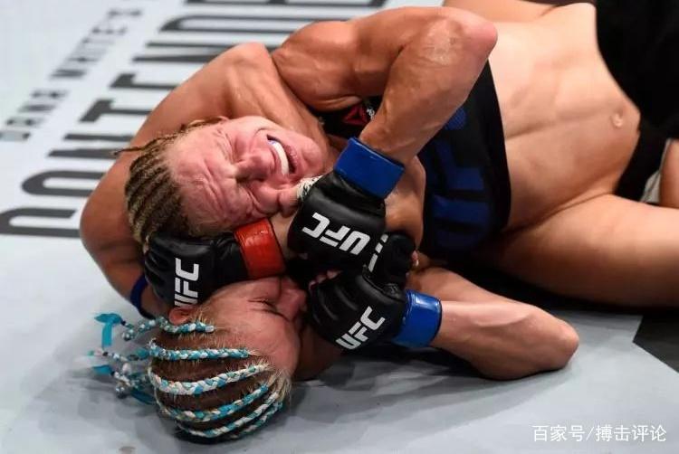 美女选手UFC赛场被打至大小便失禁,这类奇葩事件你知道吗?