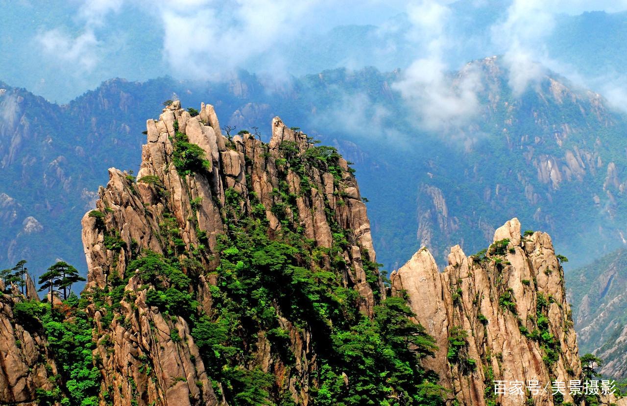 中国著名景点:安徽黄山风景区观赏美图