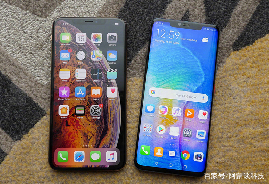 华为mate20pro和iphonexsmax对比,谁的的颜值更高,你图片
