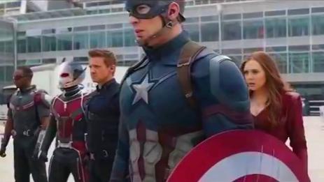 电影预告片 《美国队长3》
