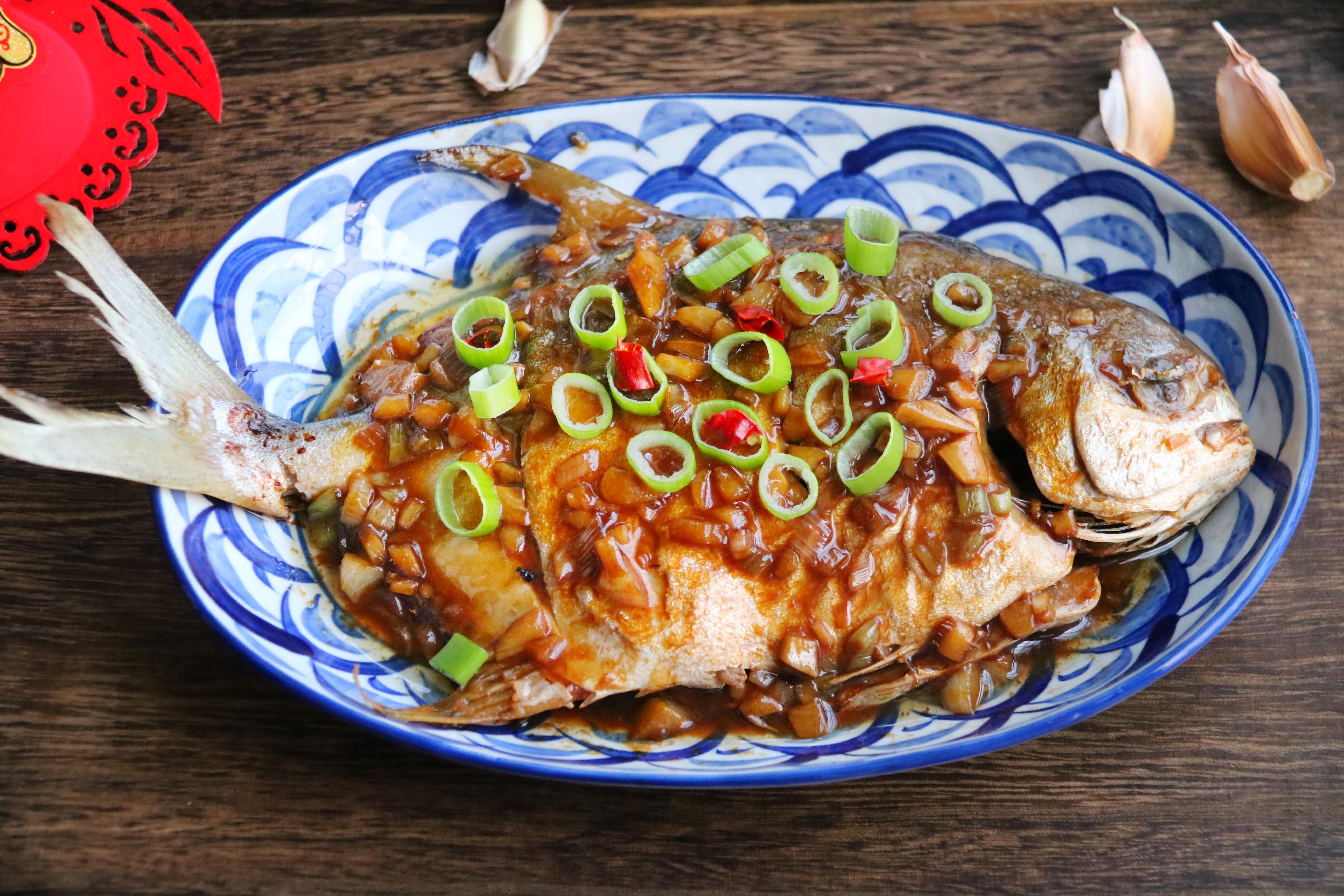 【红烧菜品】鲳鱼模型加盟图片