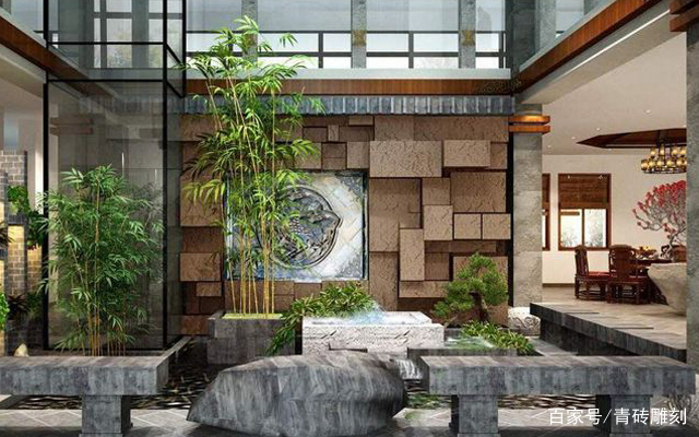 中式田园庭院别墅设计,有好布局也有高颜值,网友:要点