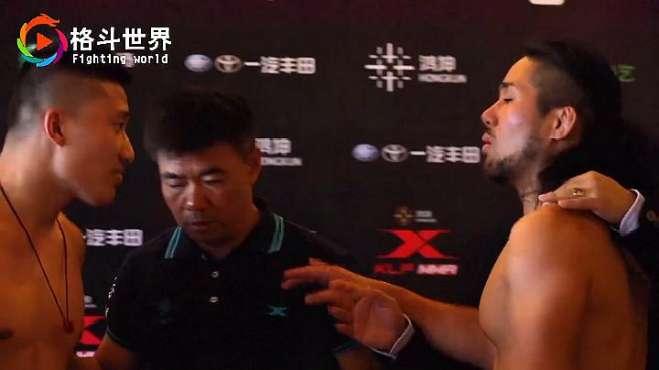 中国勇士称重遭日本对手挑衅,上场暴揍十几拳,嘴都打流血了!