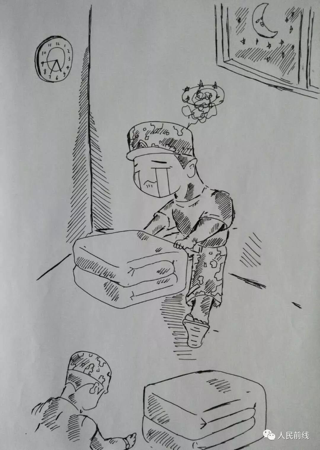 「萌漫」不服不行!这些新兵款手绘漫画太萌了