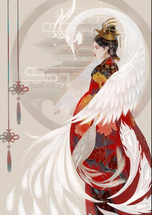 古风手绘绝代风华皇后壁纸:后宫佳丽三千人,三千宠爱