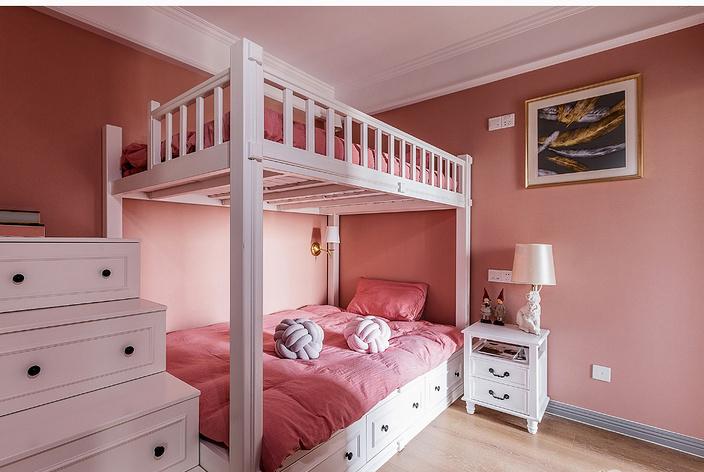 我花30W装修,只为给女儿个全粉儿童房!