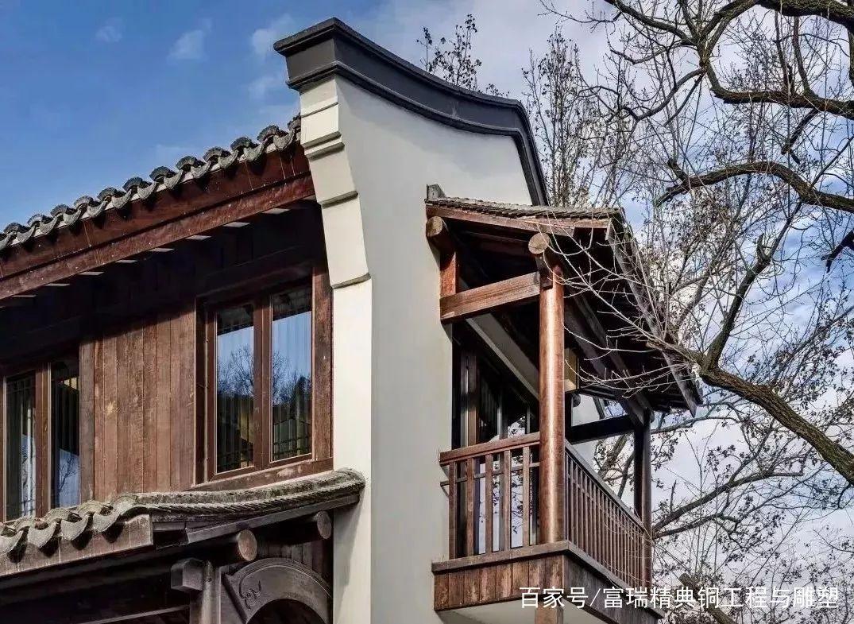 中式,复古,庭院,门铜门