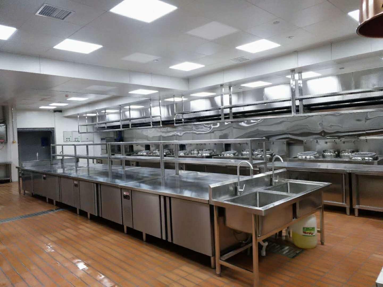 金堂五星级酒店厨房设备工程3