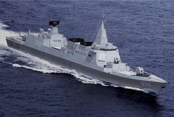 055大驱即将服役,中国另1款战舰3大性能或将领先全球,厉害了!