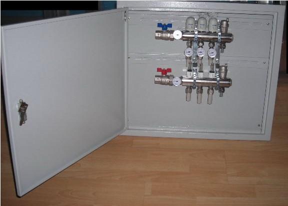 暖气分水器装修效果图