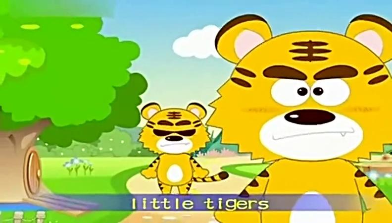 儿歌 儿童歌曲 两只老虎(英文版)