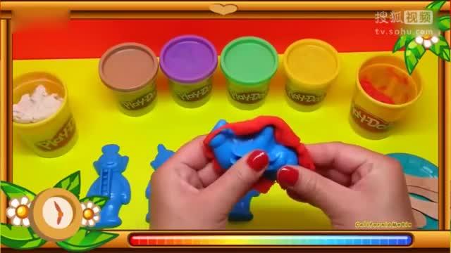 可爱巧虎岛 舞法天女朵法拉 00:57 橡皮泥动画「9」:小恐龙爆笑玩滑滑