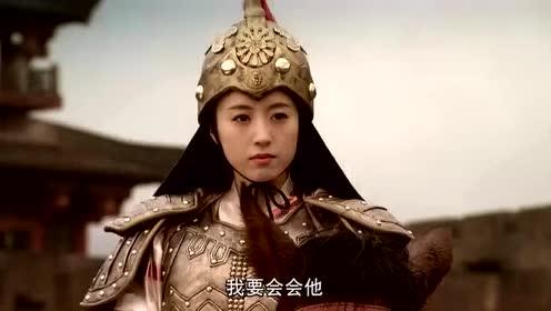 薛丁山的两个夫人与妹妹上战场与樊梨花决战,几个女人