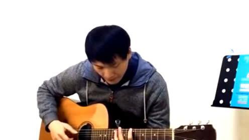 《西游记》主题曲吉他版纯音乐 节奏一响起就让人流连忘返