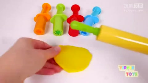 手掌彩绘,彩泥粘土手工制作小动物,厨房玩具奇趣微波炉