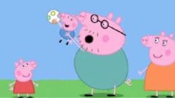 小猪佩奇做游戏 粉红小猪妹一家人