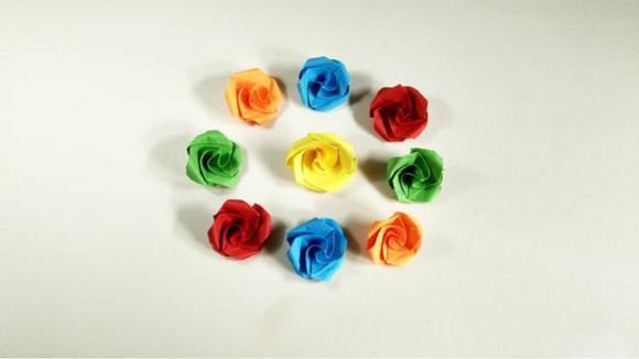 43:35 手工编织流苏链条包包 03:14 三分钟学会折钻石玫瑰 手工折纸情