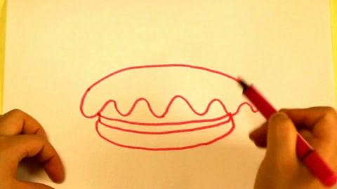 简笔画教学-画蛋糕 教幼儿学画画 儿童学画简笔画入门
