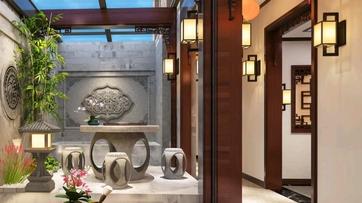 最美中国风庭院,设计师就是这么牛