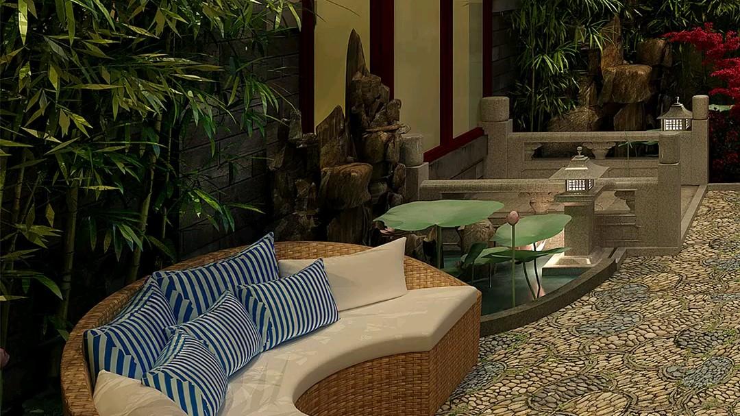 最美中式庭院,自己在家就能建