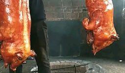 烤乳猪,有吃的吗?来一起