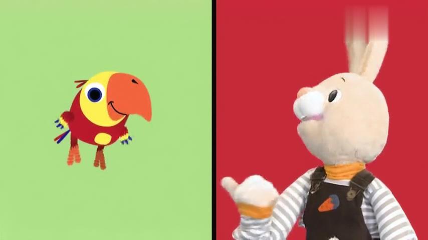 儿童益智玩具情景剧游戏 跟兔子大黄鸭学习形状图片