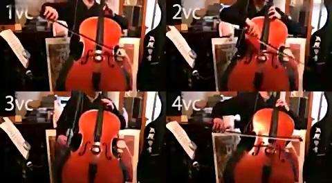 「大提琴」化物语ED-你不知道的故事 大提琴四重奏