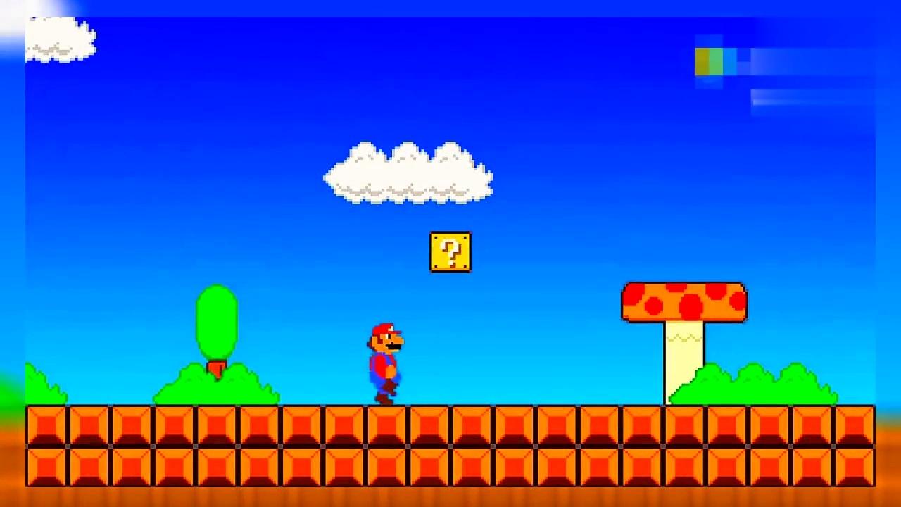 毁童年游戏:原来超级玛丽是恐怖游戏,马里奥吃了蘑菇会便怎样?