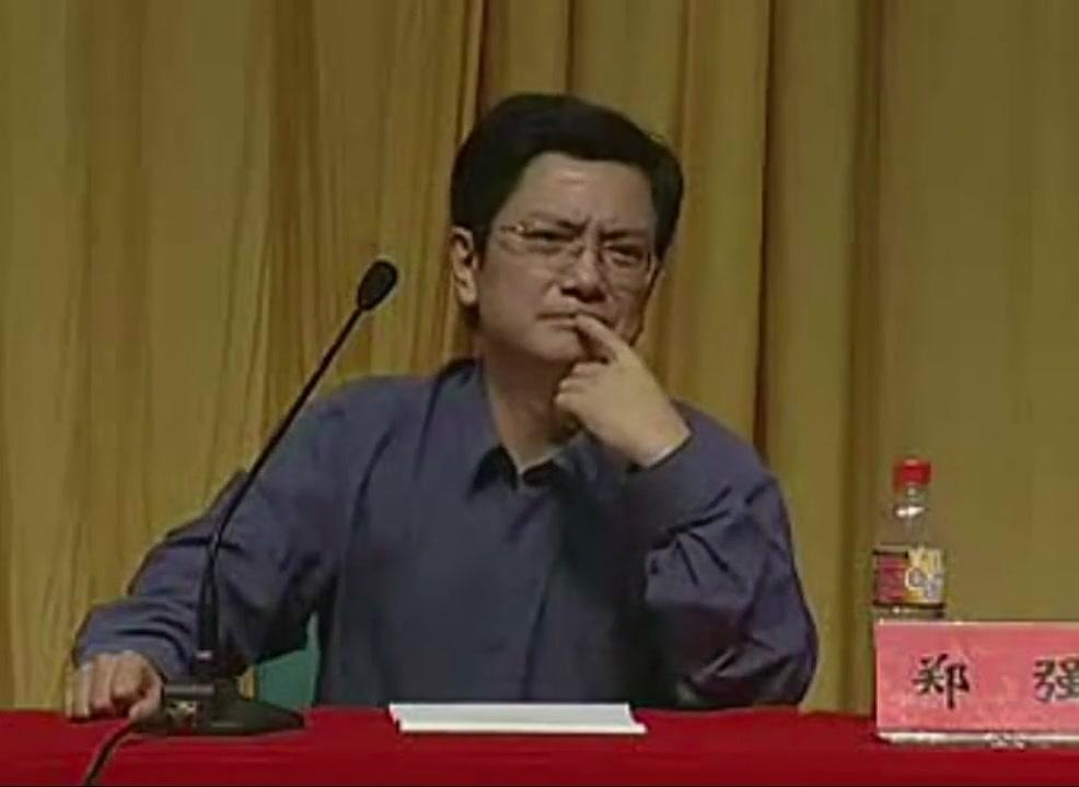 郑强教授:同学,我不知道你平时不太猛,还是平时太猛了