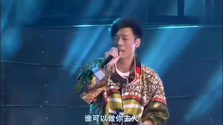 许志安的《你的秀》挺不错的现场