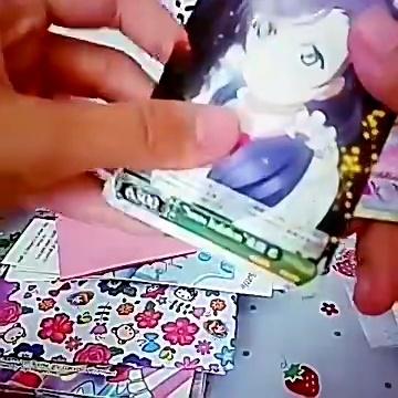 自制食玩「内含三张真卡」,小可爱们,求带走