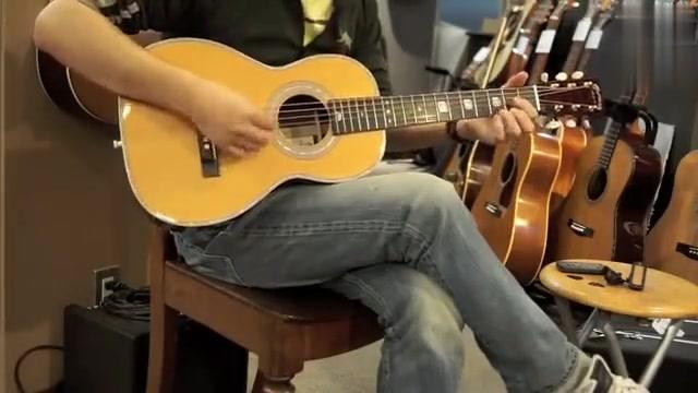 这把小马丁估计大多数玩儿吉他的没见过