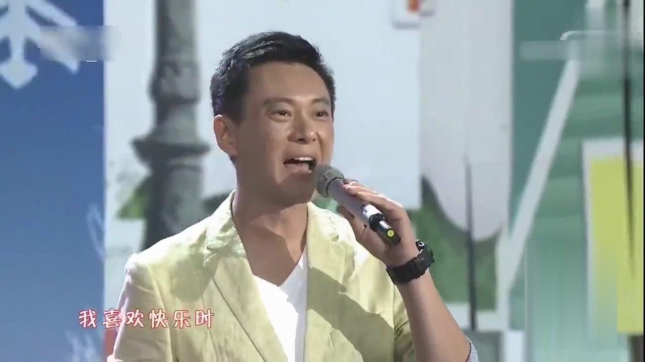 曹颖一家三口合唱《相亲相爱》