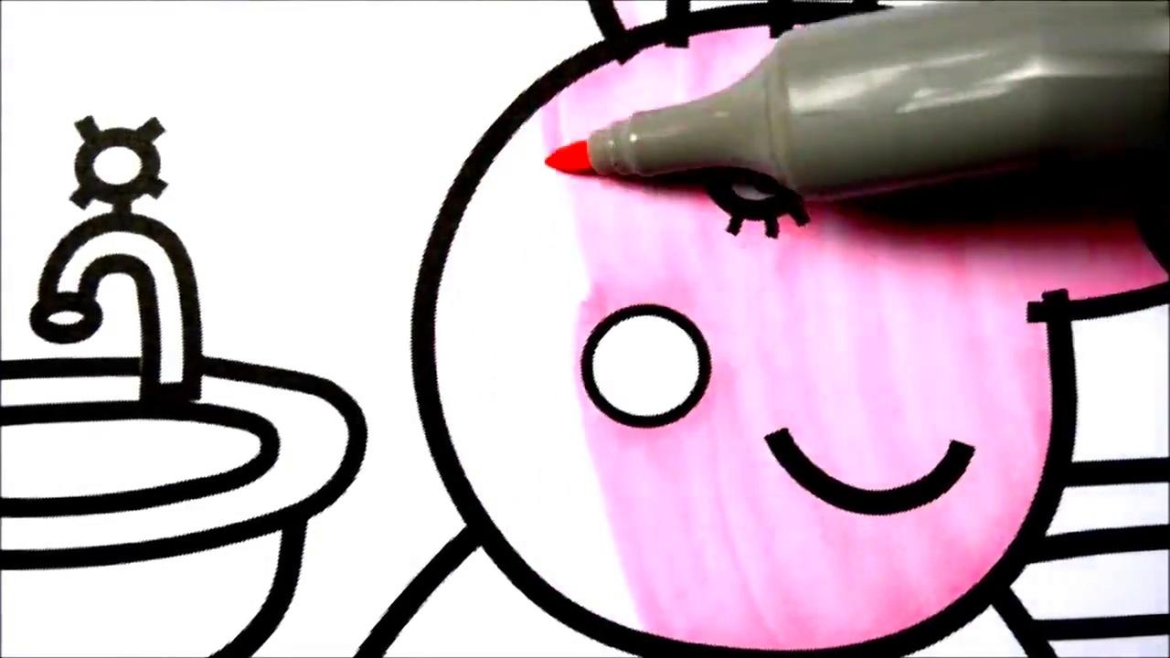 早教益智彩绘教育:小猪佩奇之乔治喜欢妈妈给他和恐龙