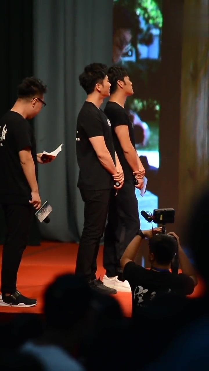 李晨 赵达携电影《空天猎》走进沈阳大学