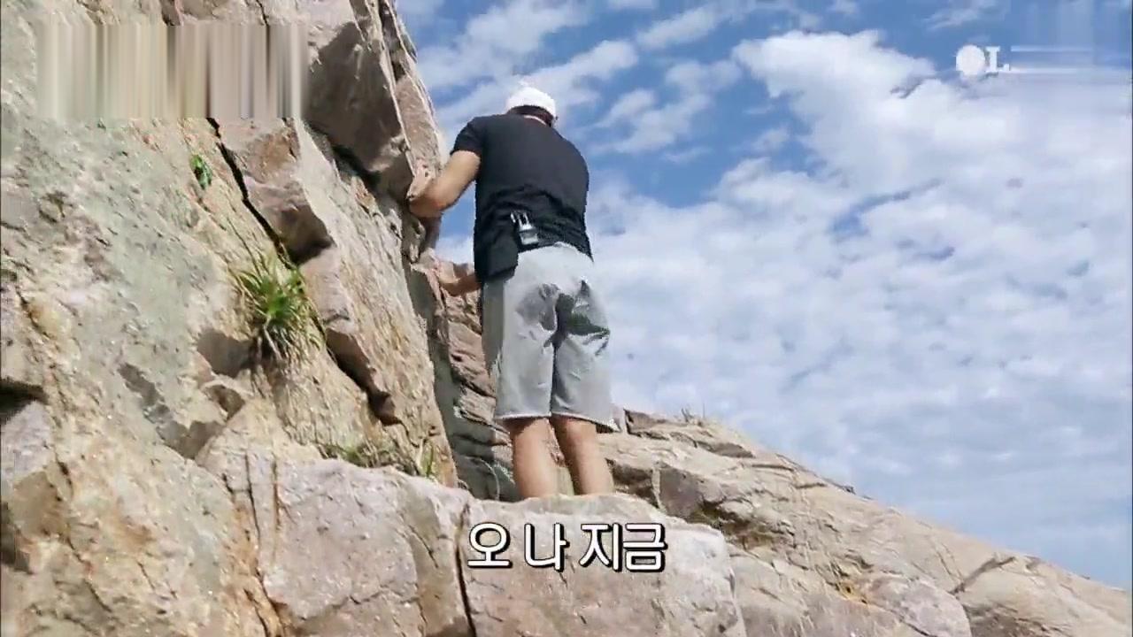 韩综「岛剑客」郑容和 不唱歌扔了吉他学攀岩!徒手勇攀高峰