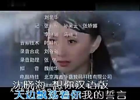 沈晓海-想你 汉语版-马鸣风萧萧 片尾曲