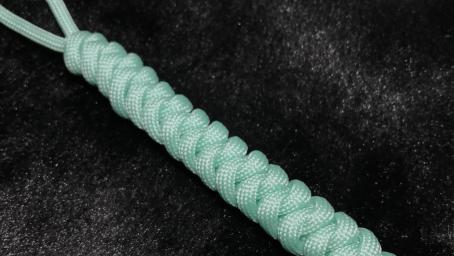 中國結基礎結法教程.蛇結編法長用於手鏈項鏈開頭與結