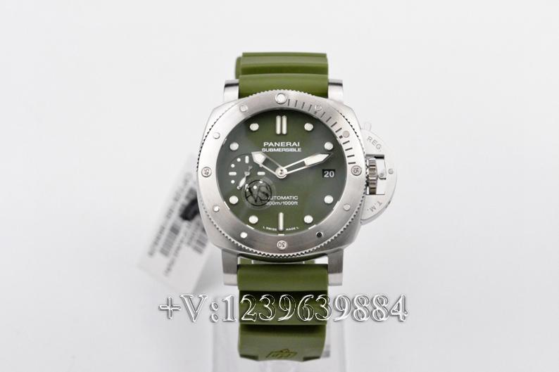 对比:VS厂沛纳海1055绿鬼王42mm,值不值得入手?插图2
