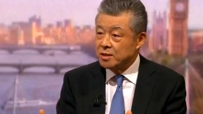 被主持人咄咄逼问 驻英大使坚定表态:若拒绝华为将是英国的遗憾