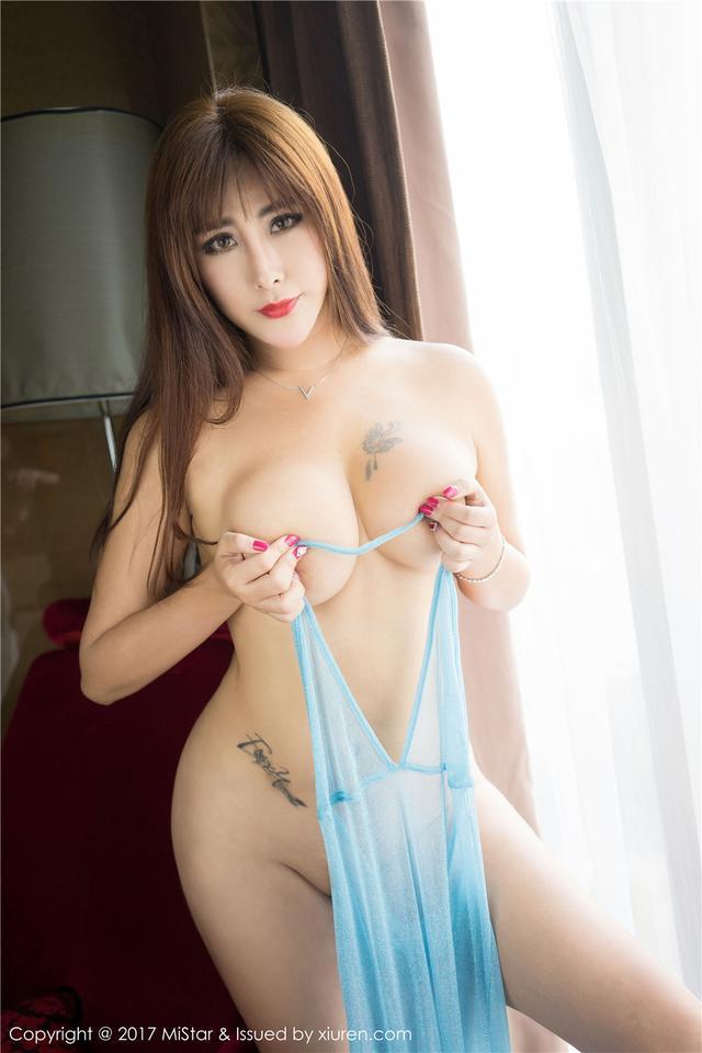 [魅妍社] 超性感女神FoxYini孟狐狸巨乳丁字裤诱惑 V