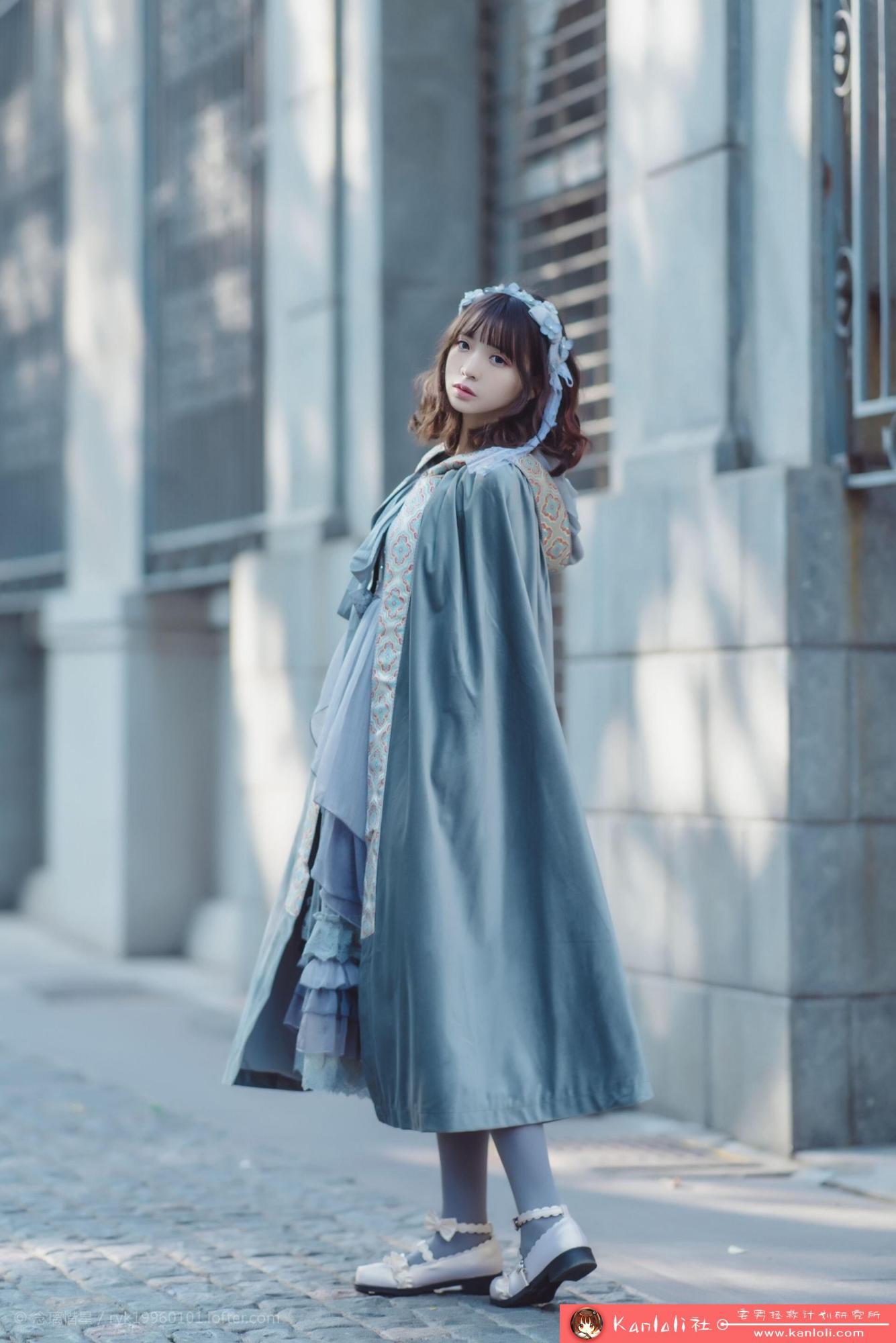 【疯猫ss】疯猫ss写真-FM-033 超可爱斗篷装 [10P]