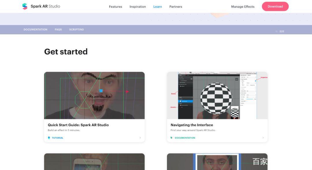 做一个属于你的 AR 滤镜 Spark AR Studio 介绍 资源教程 第5张