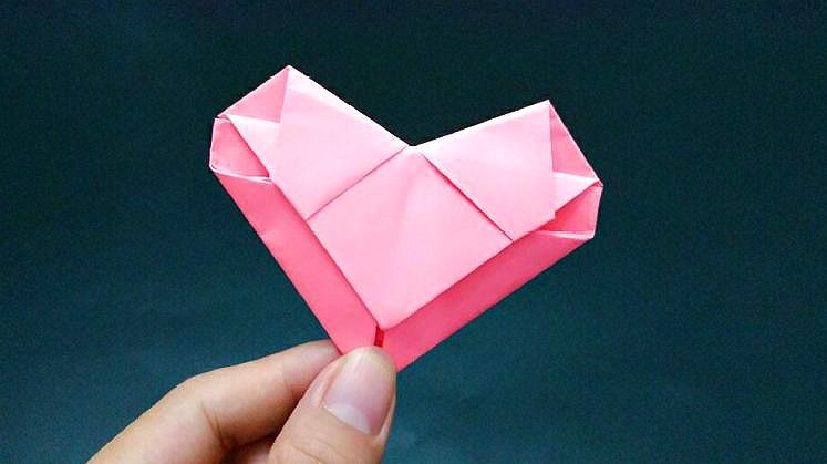 8090後做過的摺紙愛心情書,一步步都是回憶,還會的人卻不多了