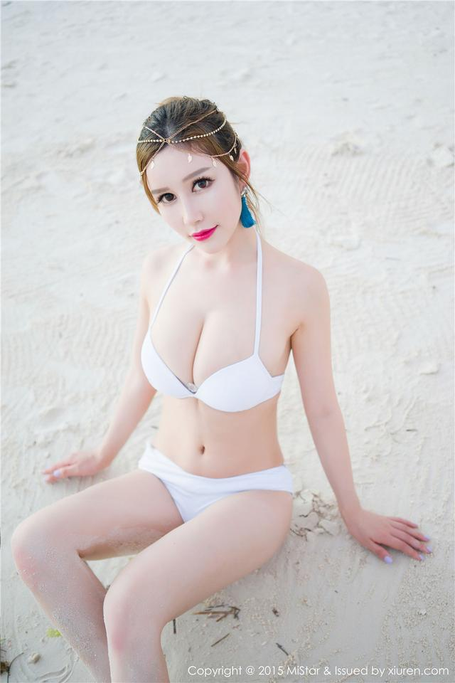 [魅妍社]性感女神于姬UnaV海滩唯美写真高清图OL.049